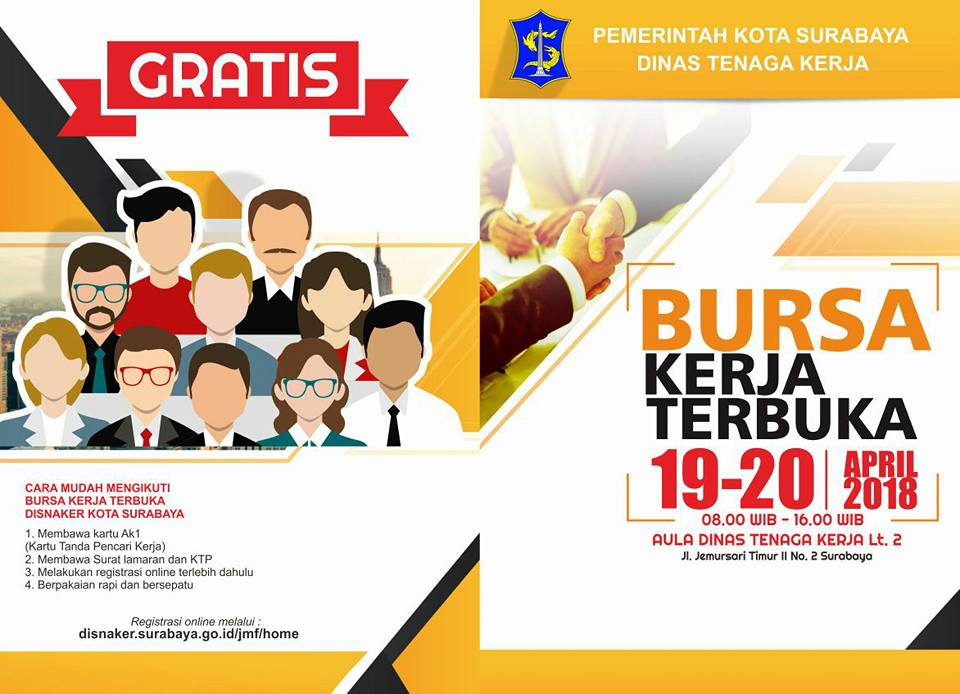 Job Fair Disnaker Surabaya