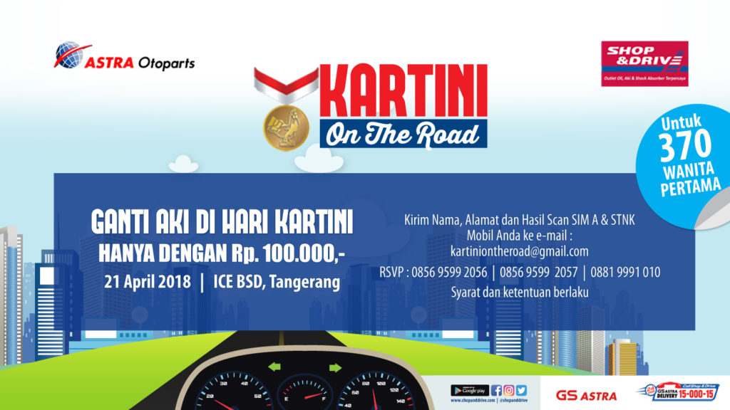 Kartini On The Road - ICE BSD Tangerang, 21 April 2018