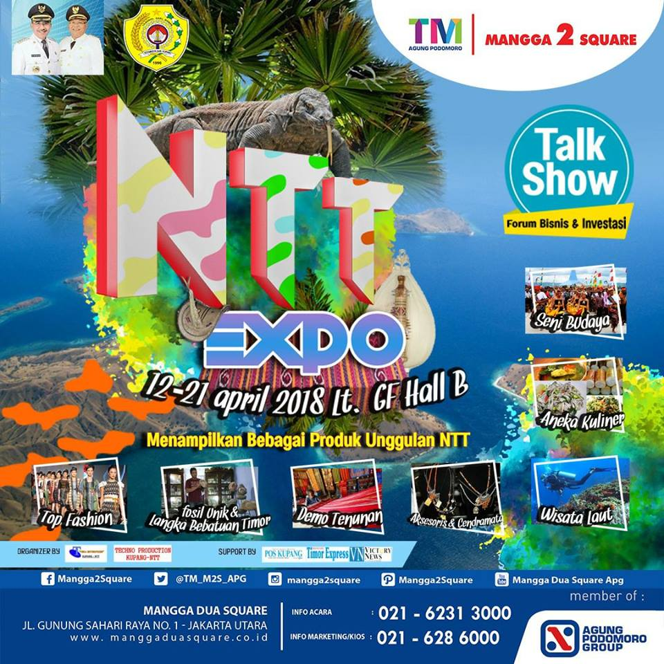 NTT Expo - Trade Mall Mangga 2 Square, 12-21 April 2018