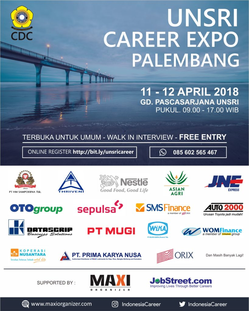 UNSRI Career Expo Palembang