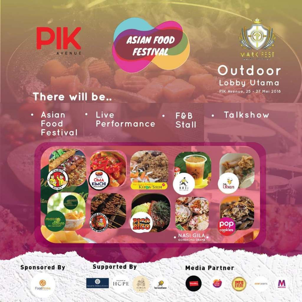 <strong>Asian Food Festival 2018</strong>