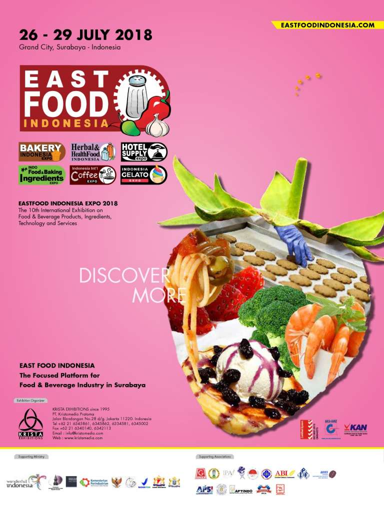 East Food Indonesia - Grand City Surabaya, 26-29 Juli 2018