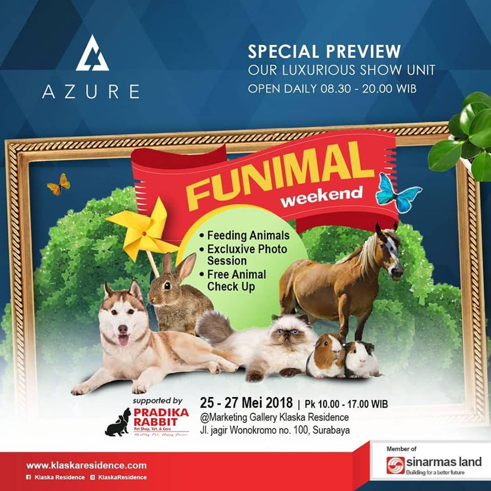 Funimal Weekend: Adventure Awaits - Marketing Gallery Klaska Residence, 25-27 Mei 2018