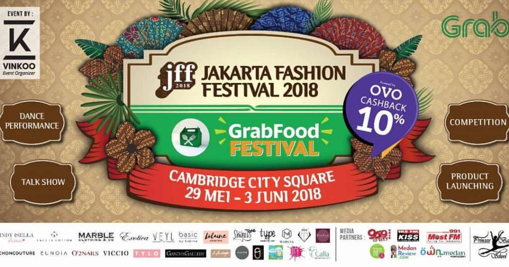 <strong>Jakarta Fashion Fest 2018 x Grab Food Festival</strong>