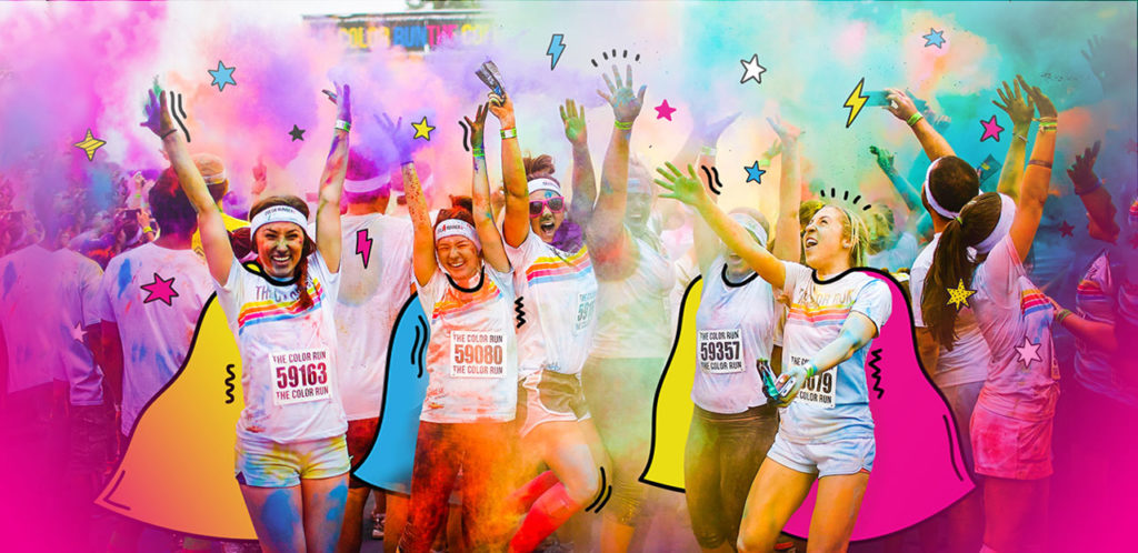The Color Run - Gelora Bung Karno, 16 September 2018