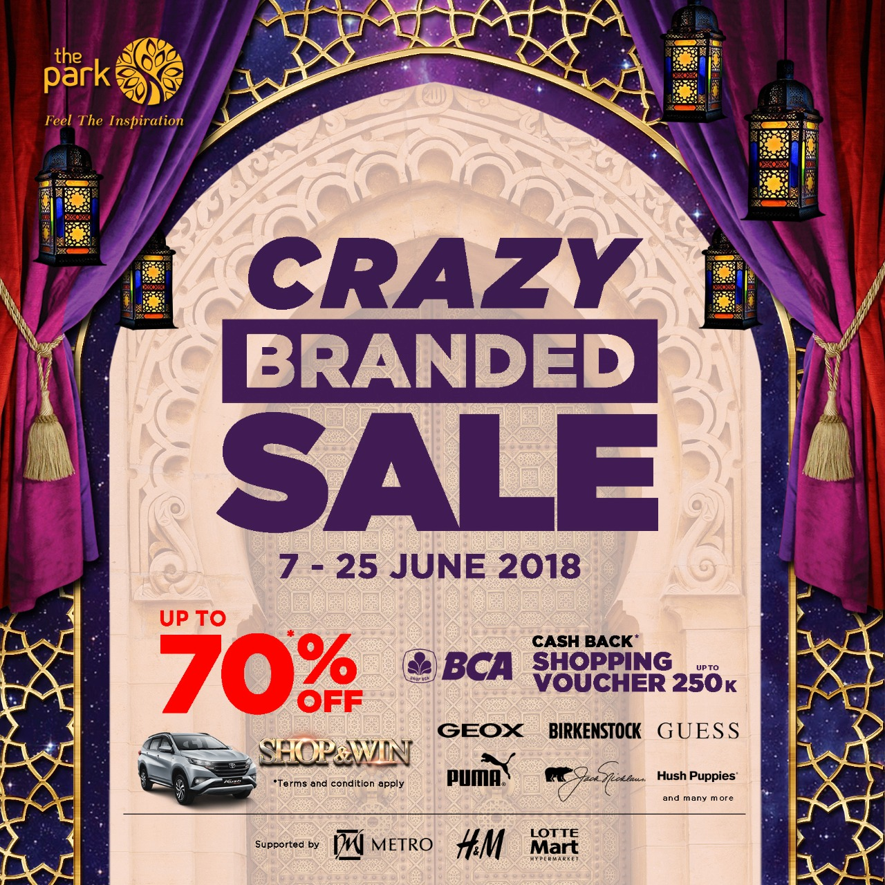 Spirit of Ramadan - The Park Mall Solo Baru, 9-25 Juni 2018