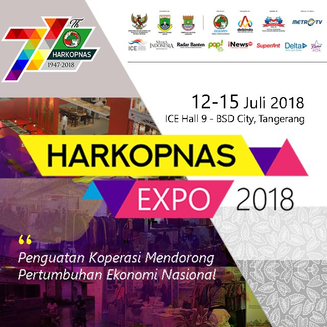 HARKOPNAS Expo - ICE BSD City, 12-15 Juli 2018