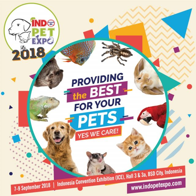 Indo Pet Expo - ICE BSD City, 07-09 September 2018