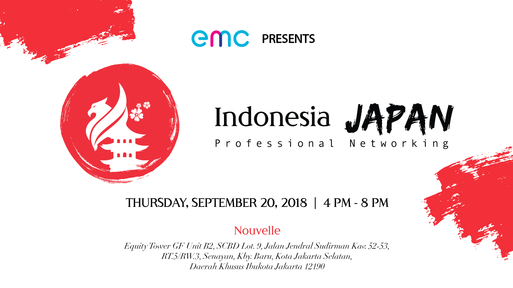 Indonesia Japan Professional Networking - Nouvelle Restaurant, 20 Sept 2018