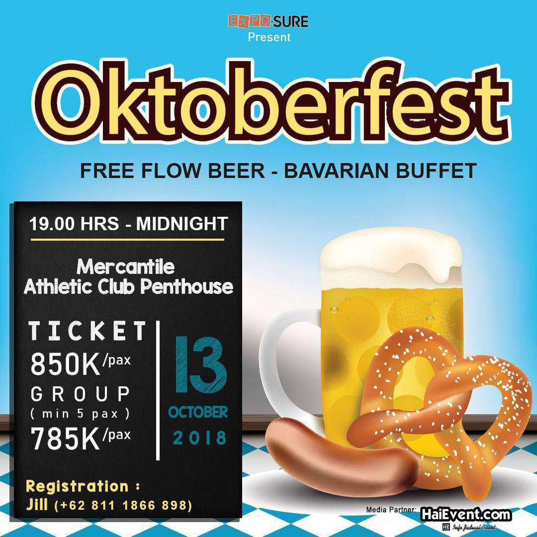 Oktoberfest - Mercantile Athletic Club, 13 Oktober 2018