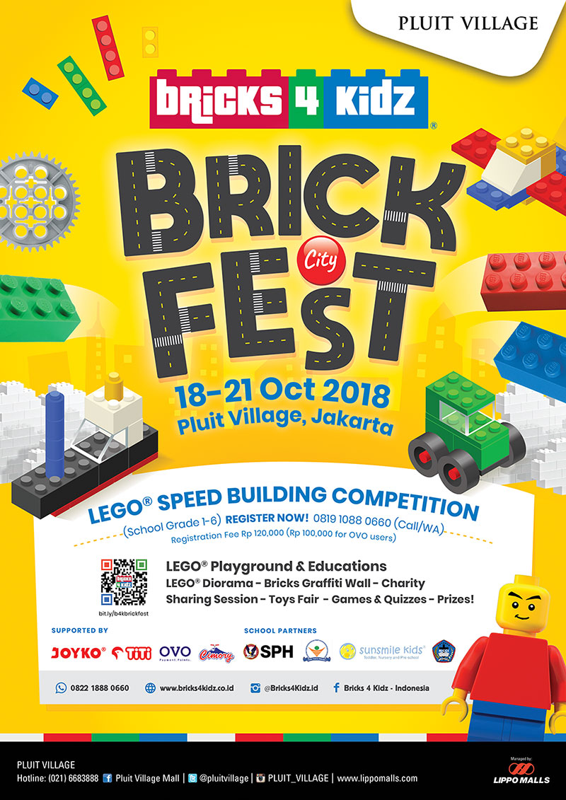 LEGO BrickFest Speed Building Competition 2018 - Mall Pluit Village