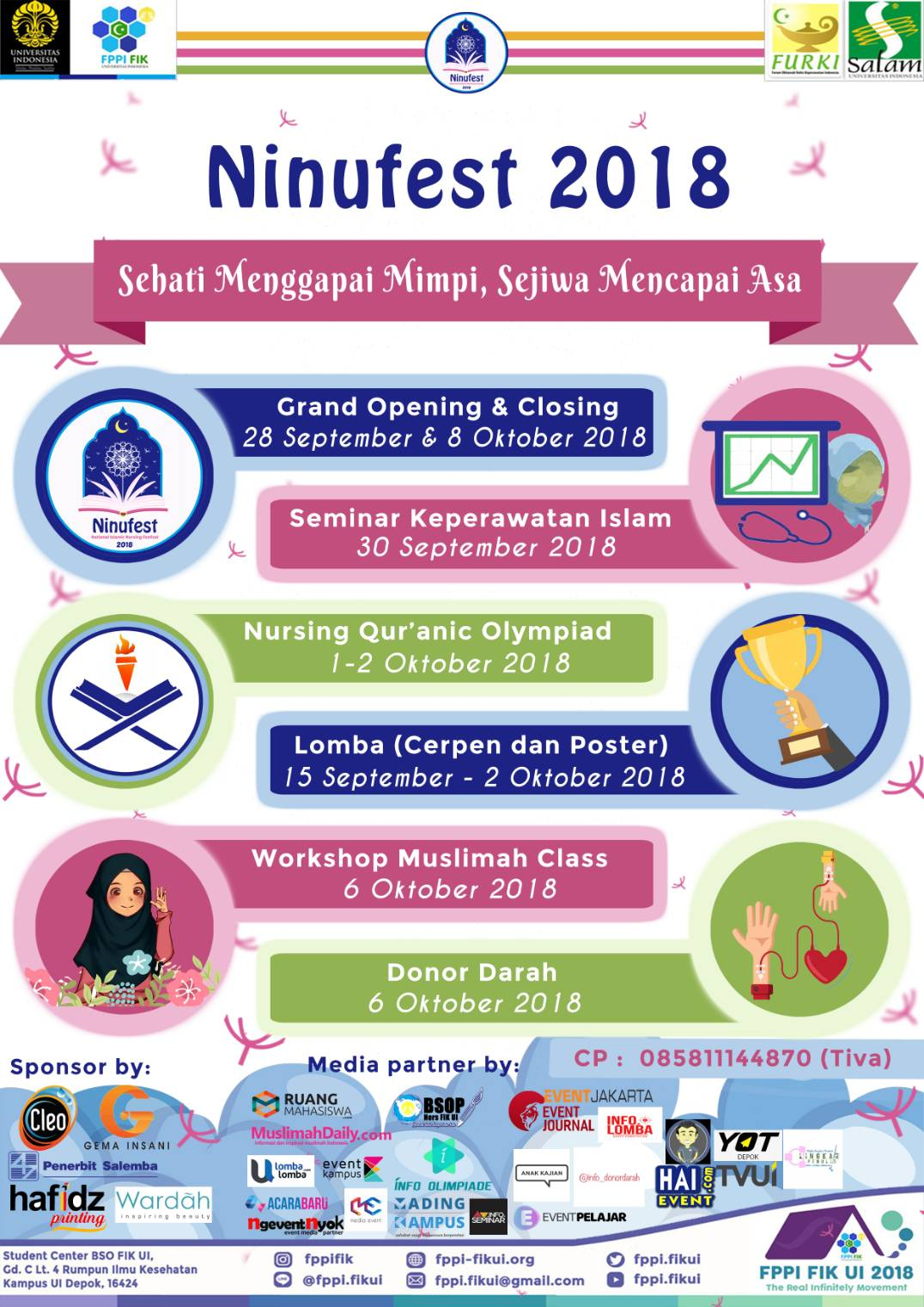 National Islamic Nursing Festival FIK UI 2018