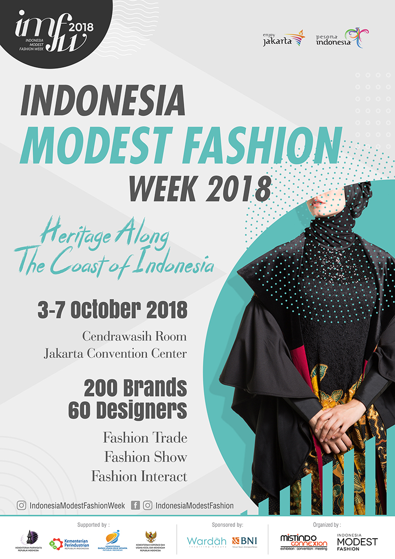 Indonesia Modest Fashion Week - Jakarta Convention Center, 3-7 Oktober 2018