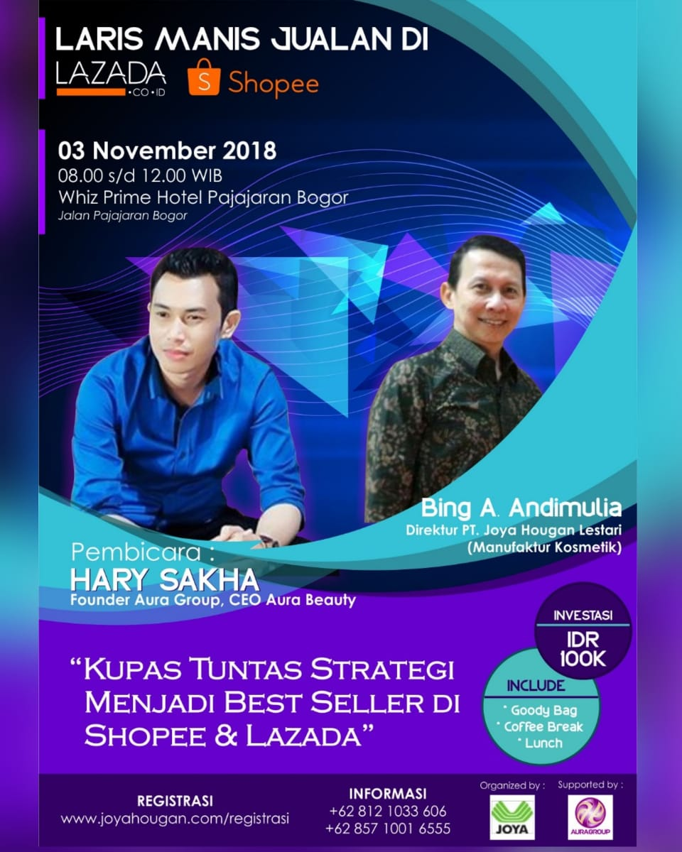 Seminar Online Marketing - Whiz Prime Pajajaran Bogor, 03 November 2018