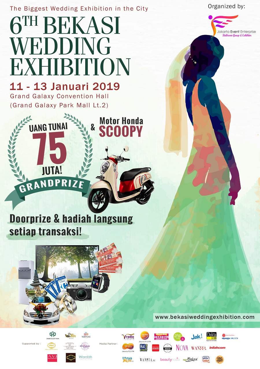 Bekasi Wedding Exhibition - Grand Galaxy Convention Hall