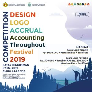 Creation : Creativity in Accrual Design Logo Competition – UPN Veteran Jakarta