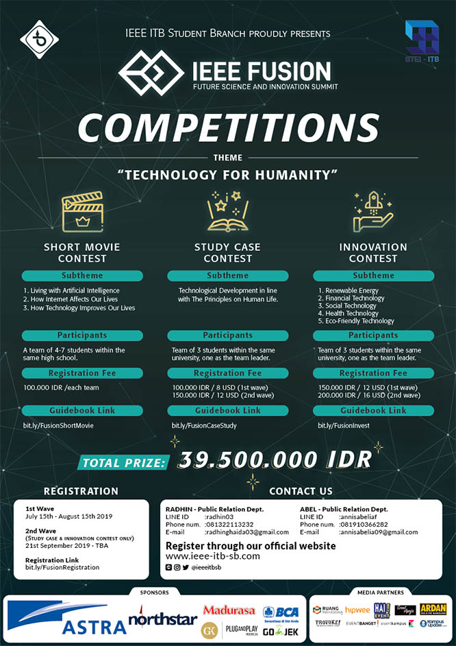 IEEE Fusion Competition 2019 – Institut Teknologi Bandung