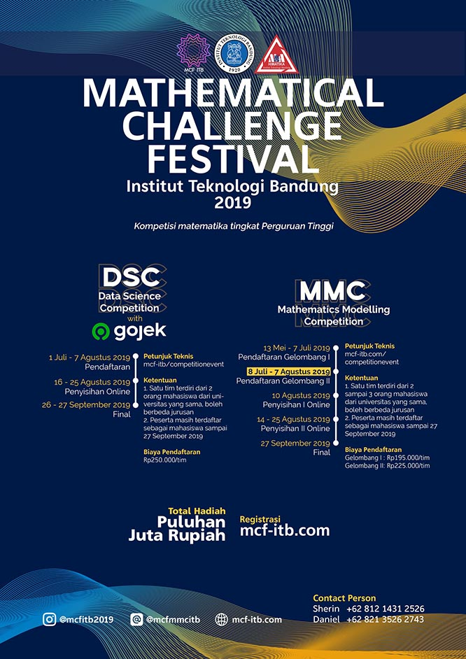 Mathematical Challenge Festival ITB 2019