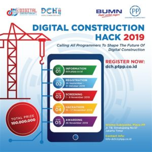 Digital Contruction Hack – Wisma Subiyanto, 06-07 November 2019