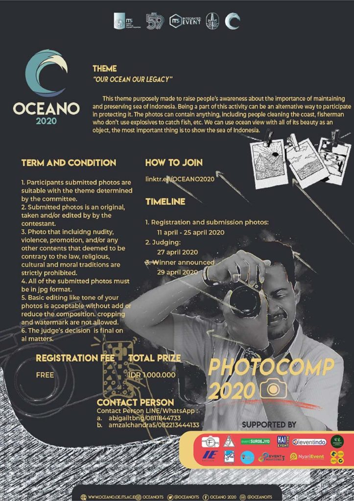 Photography Competition OCEANO 2020