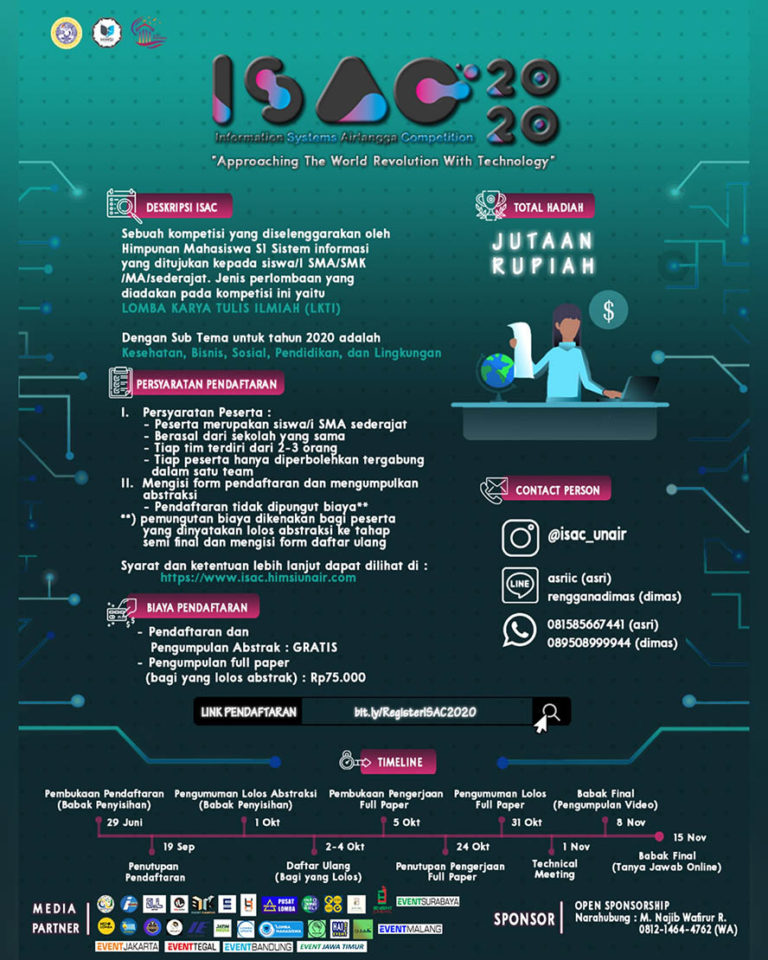 Information System Airlangga Competition (ISAC) 2020